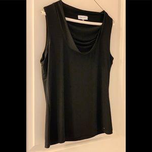| Calvin Klein Ladies Black Blouse | Size Large